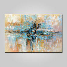Mintura MT161012 Hand Painted Abstract Canvas Oil Painting
