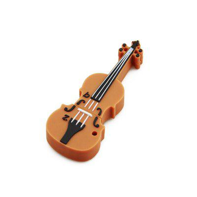 Cartoon Violine USB2.0 Flash Drive U Disk