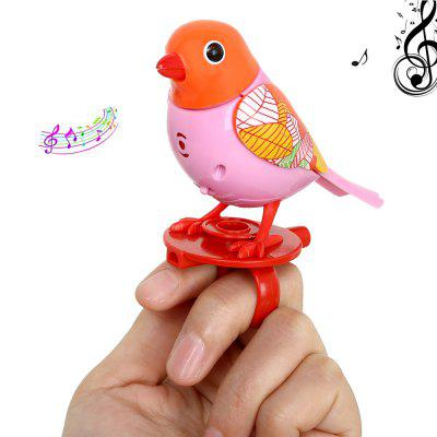 Gearbest Sound Voice Control Induction Bird Toy