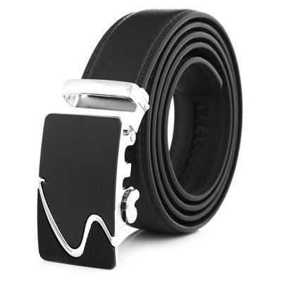 Leisure Business Alloy Buckle Leather Trouser Belt