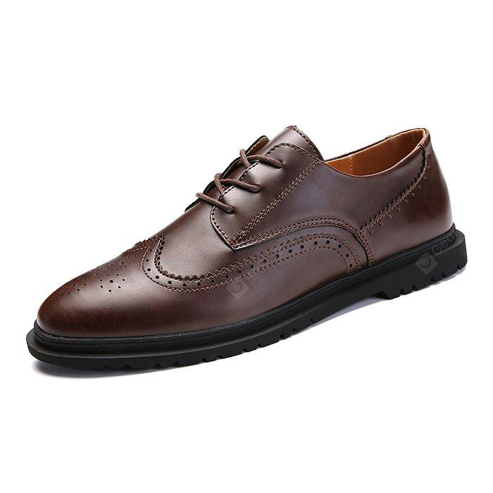 Gentleman Business Soft Well-matched Casual Dress Shoes