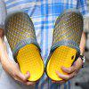 Male Breathable Anti Slip Simple Beach Slippers - GRAY