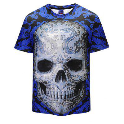 Mr 1991 INC Miss Go Cool T-shirt with Skull Motifs