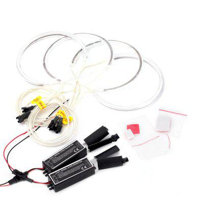 YKT - AB168 CCFL Angel Eyes Halo Rings Kit with Inverter
