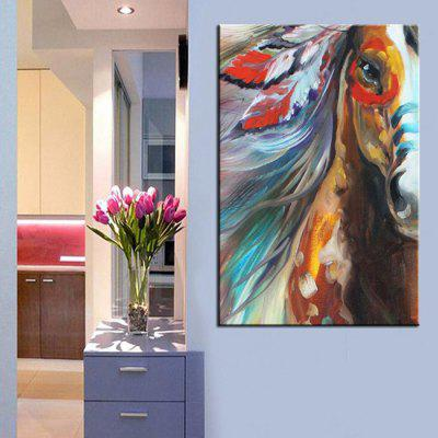 Mintura Canvas Oil Painting Horse Hanging Wall ArtOil Paintings<br>Mintura Canvas Oil Painting Horse Hanging Wall Art<br><br>Brand: Mintura<br>Craft: Oil Painting<br>Form: One Panel<br>Material: Canvas<br>Package Contents: 1 x Oil Painting<br>Package size (L x W x H): 72.00 x 5.00 x 5.00 cm / 28.35 x 1.97 x 1.97 inches<br>Package weight: 0.5000 kg<br>Painting: Without Inner Frame<br>Product size (L x W x H): 90.00 x 60.00 x 0.10 cm / 35.43 x 23.62 x 0.04 inches<br>Product weight: 0.3000 kg<br>Shape: Vertical<br>Style: Modern<br>Subjects: Animal<br>Suitable Space: Bedroom,Dining Room,Hallway,Hotel,Kids Room,Kitchen,Living Room