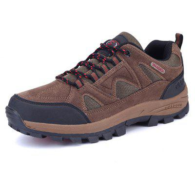 Men Outdoor Soft Lightweight Ventilate Hiking Athletic Shoes