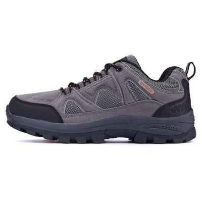 Men Outdoor Soft Lightweight Ventilate Hiking Athletic ShoesAthletic Shoes<br>Men Outdoor Soft Lightweight Ventilate Hiking Athletic Shoes<br><br>Closure Type: Lace-Up<br>Contents: 1 x Pair of Shoes, 1 x Box<br>Decoration: Split Joint<br>Function: Slip Resistant<br>Materials: Leather, Mesh, Suede<br>Occasion: Sports, Shopping, Running, Riding, Outdoor Clothing, Casual, Daily, Holiday<br>Outsole Material: Rubber<br>Package Size ( L x W x H ): 30.00 x 20.00 x 10.00 cm / 11.81 x 7.87 x 3.94 inches<br>Package weight: 0.8500 kg<br>Product weight: 0.8000 kg<br>Seasons: Autumn,Spring<br>Style: Modern, Leisure, Fashion, Comfortable, Casual<br>Toe Shape: Round Toe<br>Type: Hiking Shoes<br>Upper Material: Leather,Mesh,Suede