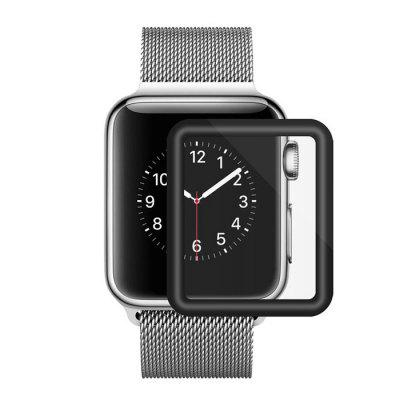 Tempered Glass For Apple Watch 38mm Series 3D Full Cover Curved Black Edge Screen Protector
