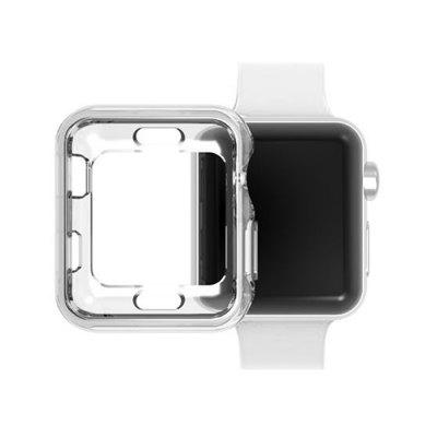 2pcs 38MM TPU Screen Protector All-around Protective 0.3mm HD Clear Ultra-thin Cover Case for Apple Watch Series 3 / 2 / 1 Sport Edition