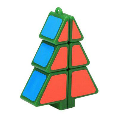 qiyi Christmas Tree Shape Magic Cube