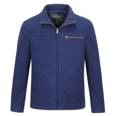 CTSmart Leisure Solid Color Jacket
