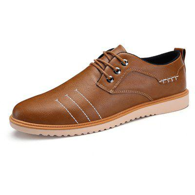 Men British Business Casual Soft Lightweight Oxford Shoes