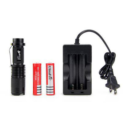 Adjustable Focus Multiple Modes Cree XM - L2 1000Lm