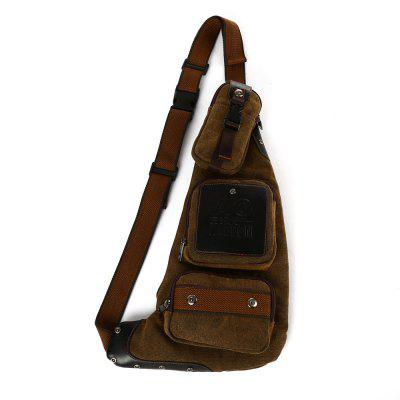 Buy COFFEE Kabden 6L Canvas Sling Bag for $21.63 in GearBest store