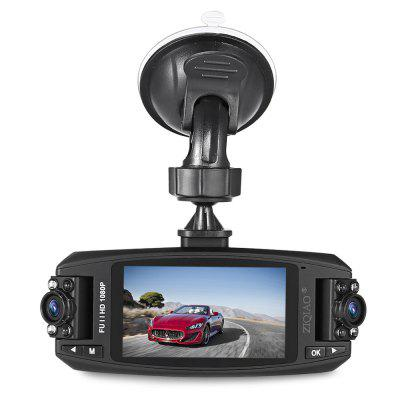 ZIQIAO JL - F80 Full HD 1080P 2.7 inch WDR Car DVR Video Camcorder