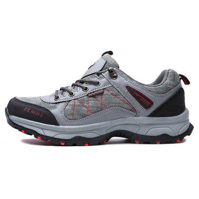 Men Outdoor Soft Lightweight Hiking Athletic ShoesAthletic Shoes<br>Men Outdoor Soft Lightweight Hiking Athletic Shoes<br><br>Closure Type: Lace-Up, Lace-Up<br>Contents: 1 x Pair of Shoes, 1 x Box, 1 x Pair of Shoes, 1 x Box<br>Decoration: Split Joint, Split Joint<br>Function: Slip Resistant, Slip Resistant<br>Materials: Rubber, Microfiber Leather, Mesh<br>Occasion: Running, Riding, Sports, Shopping, Outdoor Clothing, Holiday, Daily, Casual, Sports<br>Outsole Material: Rubber, Rubber<br>Package Size ( L x W x H ): 30.00 x 20.00 x 10.00 cm / 11.81 x 7.87 x 3.94 inches, 30.00 x 20.00 x 10.00 cm / 11.81 x 7.87 x 3.94 inches<br>Package weight: 0.8000 kg, 0.8000 kg<br>Product weight: 0.7500 kg, 0.7500 kg<br>Seasons: Autumn,Spring, Autumn,Spring<br>Style: Casual, Modern, Fashion, Leisure, Comfortable, Modern, Casual, Comfortable, Fashion, Leisure<br>Toe Shape: Round Toe, Round Toe<br>Type: Sports Shoes<br>Upper Material: Mesh,Microfiber Leather, Mesh,Microfiber Leather