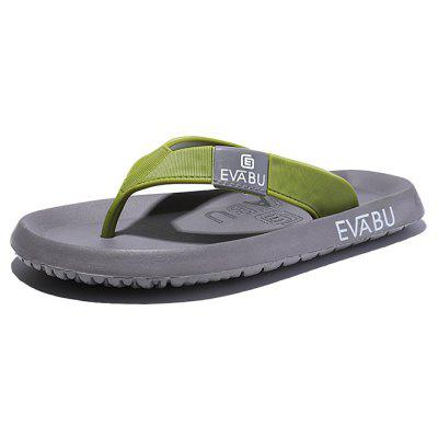 Men Modern Casual Beach Holiday Flip-flops Slippers