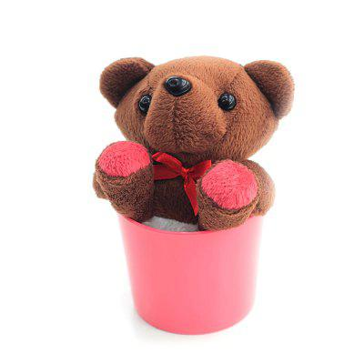 Tabletop Clean Dust Small Bears Plush Doll