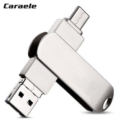 Caraele RI - 7 3 in 1 Data Storage U Disk 32GB / 64GB / 128GB