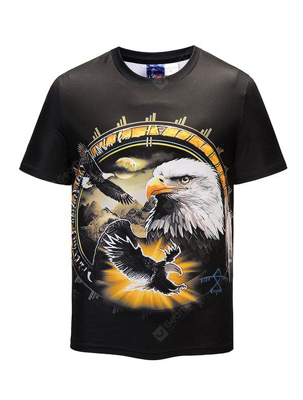 Mr 1991 INC Miss Go T-shirt with Eagles Motifs
