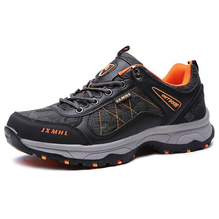Men Outdoor Soft Lightweight Hiking Athletic Shoes