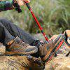 Men Outdoor Soft Lightweight Ventilate Hiking Athletic Shoes - BROWN