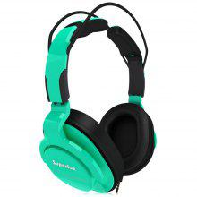 Superlux HD-661 Monitoring Music Green Headphones Noise Canceling