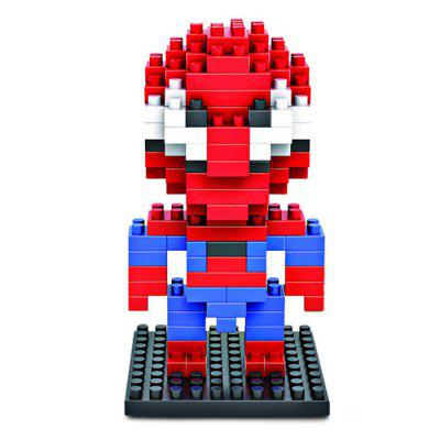 LOZ 130Pcs M - 9154 Spider-man Building Block Educational Assembling Boy Girl Gift for Spatial Thinking