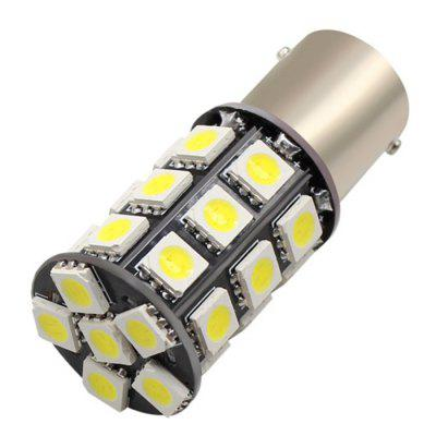10PCS 5050 27SMD White LED Light Bulbs 1156 BA15S Turn Signal Light Brake Lamp 12V