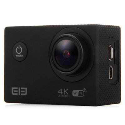 Original Elephone ELE Explorer 4K Ultra HD WiFi Action CameraAction Cameras<br>Original Elephone ELE Explorer 4K Ultra HD WiFi Action Camera<br><br>Aerial Photography: Yes<br>Anti-shake: No<br>Application: Ski<br>Audio System: Built-in microphone/speaker (AAC)<br>Auto Focusing: Yes<br>Battery Capacity (mAh): 1050mAh<br>Battery Type: Built-in<br>Brand: Elephone<br>Camera Pixel: 16.0MP<br>Camera Timer: Yes<br>Charge way: USB charge by PC<br>Charging Time: 2H<br>Chipset: Allwinner V3<br>Chipset Name: Allwinner<br>Class Rating Requirements: Class 10 or Above<br>Decode Format: H.264<br>Delay Shutdown: Yes<br>Exposure Compensation: +1,+2,+3,-1,-2,-3,0<br>Features: Wireless<br>Frequency: 50Hz,60Hz<br>Function: Auto Focusing, Camera Timer<br>Image Format: JPEG<br>Interface Type: Micro USB, Micro HDMI, TF Card Slot<br>ISO: Auto<br>Language: Deutsch,English,French,Italian,Japanese,Korean,Russian,Simplified Chinese,Spanish,Traditional Chinese<br>Lens Diameter: 20mm<br>Max External Card Supported: TF 64G (not included)<br>Microphone: Built-in<br>Model: Elephone ELE Explorer<br>Night vision: No<br>Package Contents: 1 x Elephone Explorer 4K Action Camera, 1 x Waterproof Case, 1 x Backpack Clip, 1 x Backpack Clip Case, 1 x Bike Handlebar Mount, 1 x Long Connector + Short Screw, 2 x Short Connector + Short Screw, 1<br>Package size (L x W x H): 25.00 x 12.00 x 10.00 cm / 9.84 x 4.72 x 3.94 inches<br>Package weight: 0.7500 kg<br>Power Supply: DC 5V / 1A<br>Product size (L x W x H): 5.90 x 4.10 x 2.40 cm / 2.32 x 1.61 x 0.94 inches<br>Product weight: 0.0620 kg<br>Scene: Auto<br>Screen: With Screen<br>Screen resolution: 320x240<br>Screen size: 2.0inch<br>Screen type: TFT<br>Standby time: About 3 months<br>Time lapse: Yes<br>Time Stamp: Yes<br>Type: Sports Camera<br>Video format: MP4<br>Video Frame Rate: 60FPS<br>Video Output: HDMI<br>Video Resolution: 1080P (1920 x 1080),2.7K ( 2688 x 1520 ),4K (3840 x 2160),720P (1280 x 720)<br>Waterproof: Yes<br>Waterproof Rating: 30m underwater with waterproof case<br>White Balance Mode: Auto<br>Wide Angle: 170 degree wide angle<br>WIFI: Yes<br>WiFi Distance: 15m<br>WiFi Function: Image Transmission,Remote Control<br>Working Time: About 2 hours at 1080P 60fps
