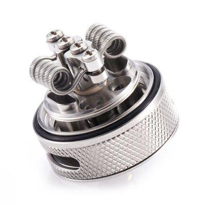 Wotofo BRAVO RTA for E CigaretteRebuildable Atomizers<br>Wotofo BRAVO RTA for E Cigarette<br><br>Brand: Wotofo<br>Material: Stainless Steel, Glass<br>Package Contents: 1 x Atomizer, 2 x Glass Tank, 1 x Accessory Bag, 1 x Cotton, 3 x Heating Wire, 1 x Screwdriver, 1 x English User Manual<br>Package size (L x W x H): 9.50 x 7.40 x 5.00 cm / 3.74 x 2.91 x 1.97 inches<br>Package weight: 0.1130 kg<br>Product size (L x W x H): 5.00 x 2.50 x 2.50 cm / 1.97 x 0.98 x 0.98 inches<br>Product weight: 0.0460 kg<br>Rebuildable Atomizer: RTA<br>Thread: 510<br>Type: Rebuildable Atomizer