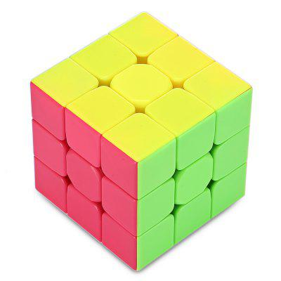 QiYi Warrior W 3 x 3 x 3 Speed Magic Cube Puzzle Finger Toy qiyi megaminx magic cube stickerless speed professional 12 sides puzzle cubo magico educational toys for children megamind