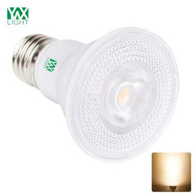1PCS YWXLight E27 8W Par 20 Spotlight Lamp Ceiling Light Bulb AC 85 - 265VSpot Bulbs<br>1PCS YWXLight E27 8W Par 20 Spotlight Lamp Ceiling Light Bulb AC 85 - 265V<br><br>Brand: YWXLight<br>Color Temperature or Wavelength: 2700 - 3200K / 6000 - 6500K<br>Connection: E27<br>Dimmable: Yes<br>Initial Lumens ( lm ): 600 - 700 LM<br>LED Beam Angle: 360 Degree<br>LED Quantity: 7 LED<br>Lifetime ( h ): More Than  30000<br>Light Source Color: Warm White,Cold White<br>Material: PC<br>Package Contents: 1 x YWXLight E27 Spotlight Lamp<br>Package size (L x W x H): 8.50 x 7.00 x 7.00 cm / 3.35 x 2.76 x 2.76 inches<br>Package weight: 0.0880 kg<br>Primary Application: Living Room,Bathroom,Bedroom,Home or Office,Living Room or Dining Room,Hallway or Stairwell,Storage Room or Utility Room,Garage or Carport<br>Product size (L x W x H): 8.30 x 6.30 x 6.30 cm / 3.27 x 2.48 x 2.48 inches<br>Product weight: 0.0680 kg<br>Type: LED Par Lights<br>Voltage: AC 85 - 265V<br>Wattage: 7W