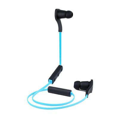 Buy Bluetooth Magnetic Headphones Bluetooth 4.1 Stereo Earphones Wireless Sweatproof Sports Earbuds with Built-in Mic for iPhone and Smart Phones BLACK for $15.66 in GearBest store