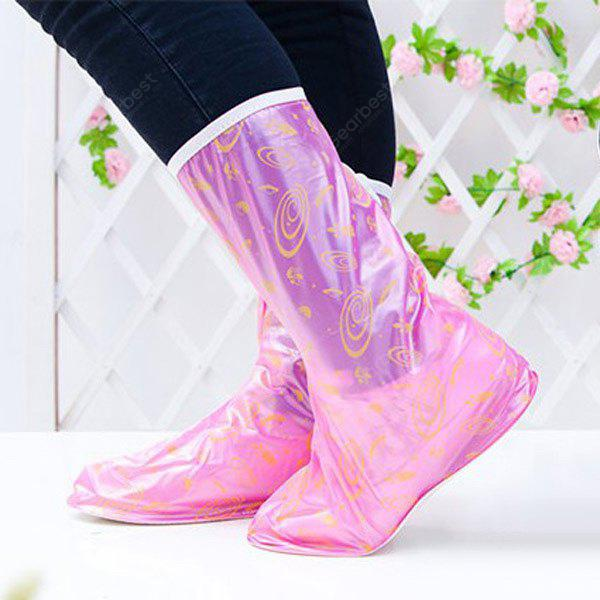 Tamanho L Side Zipper Design Slip-resistant Waterproof Thickening Rain Boot Shoes Cover