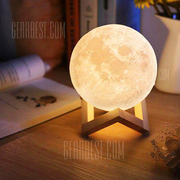 3D LED Magical Moon Lampe Night Sensor USB Night Light