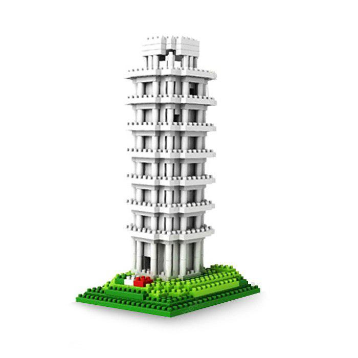 LOZ 560Pcs 9367 Pisa Tower Building Block Educational Toy for Cooperative Ability - World Great Architecture Series
