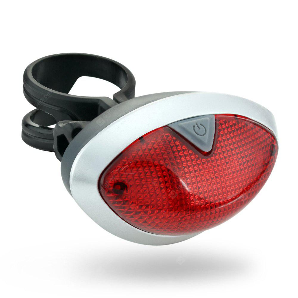 Rechargeable Safety Bike Rear Light Red Flashing LED Cycling Taillight