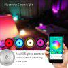 Youoklight 1PCS 36W 110-220V Led Ceiling Lamp Multicolor Bluetooth Music App Control - MULTI