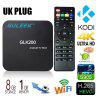 Guleek GLK200 Amlogic S905 Quad-core TV Box de Multimedia - NEGRO