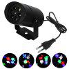 Youoklight 1PCS 4W Rgbw Christmas Lighting Decoration Led Snowflake Projector 4 Pattern Lens Halloween Lighting Dj Ktv Bar Rotating Stage Light Bulbr Ac85 - 265V - RGBW