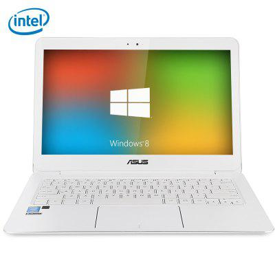 ASUS U305 NotebookLaptops<br>ASUS U305 Notebook<br><br>3.5mm Headphone Jack: Yes<br>AC adapter: 100-240V / 19V 4.5A<br>Battery Type: 7.4V / 3830mAh,  Li-ion polymer battery<br>Bluetooth: 4.0<br>Brand: ASUS<br>Caching: 4MB<br>Camera type: Single camera<br>Charger: 1<br>Charging Time.: 3-4 hours<br>Core: 1.2GHz, Dual Core<br>CPU: Intel Core M-5Y71<br>CPU Brand: Intel<br>CPU Series: Intel Core<br>DC Jack: Yes<br>External Memory: SD card up to 128GB (not included)<br>Front camera: 0.3MP<br>Graphics Chipset: Intel GMA HD 5300<br>Hard Disk Interface Type: M.2<br>Hard Disk Memory: 512GB SSD<br>Languages: Windows OS is built-in Chinese language pack<br>MIC: Supported<br>Micro HDMI slot: Yes<br>Model: U305<br>MS Office format: Excel, Word, PPT<br>Notebook: 1<br>OS: Windows 8.1<br>Package size: 47.00 x 28.50 x 8.00 cm / 18.5 x 11.22 x 3.15 inches<br>Package weight: 2.8150 kg<br>Picture format: BMP, PNG, GIF, JPEG, JPG<br>Power Consumption: 4.5W<br>Process Technology: 14nm<br>Product size: 32.40 x 22.45 x 1.20 cm / 12.76 x 8.84 x 0.47 inches<br>Product weight: 1.2280 kg<br>RAM: 8GB<br>RAM Type: DDR3L<br>Screen resolution: 1920 x 1080 (FHD)<br>Screen size: 13.3 inch<br>Screen type: IPS, LED<br>SD Card Slot: Yes<br>Skype: Supported<br>Speaker: Supported<br>Standby time: 4-5 hours<br>Threading: 4<br>Type: Notebook<br>USB Host: Yes (3 x USB Host)<br>WIFI: 802.11b/g/n wireless internet<br>WLAN Card: Yes<br>Youtube: Supported