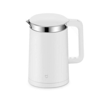 Gearbest Original Xiaomi Mi Electric Water Kettle - 1.5L - WHITE with Constant Temperature Control