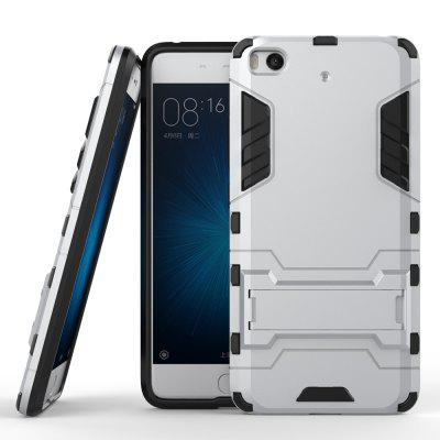 Luanke 2 in 1 Bracket Phone Back Cover for Xiaomi Mi 5S