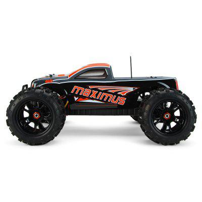 DHK HOBBY 8382 Maximus 1:8 Brushless RC Monster Truck - RTR cnc metal chassis plate guard shield for 1 7 cen racing reeper monster truck rc car part