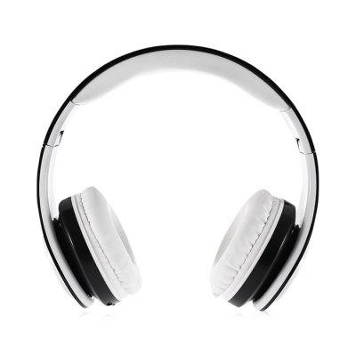 VB06 Foldable Over-ear Soft Stereo Bluetooth Headset with Mic