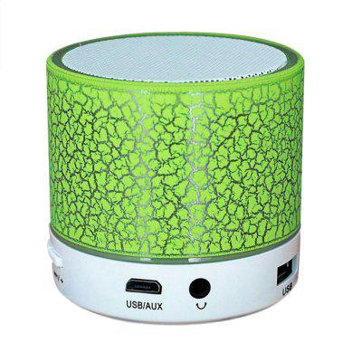 Buy Bluetooth Speaker Wireless Portable Mini LED Small Music Audio TF USB FM Stereo Sound Speaker for Phone Xiaomi Computer GREEN for $7.77 in GearBest store