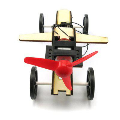 DIY Wind Car 003 Model Battery Operated Educational Toy Physics Handwork