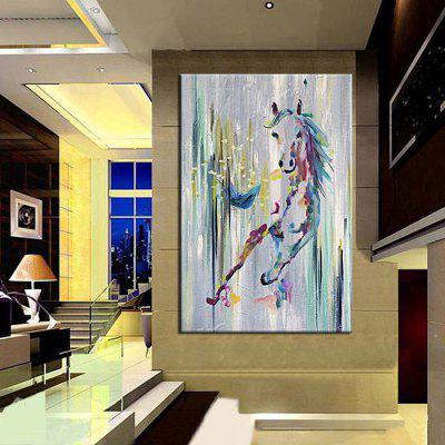 Mintura MT161039 Pure Hand-painted Horse Oil PaintingOil Paintings<br>Mintura MT161039 Pure Hand-painted Horse Oil Painting<br><br>Brand: Mintura<br>Craft: Oil Painting<br>Form: One Panel<br>Material: Canvas<br>Package Contents: 1 x Oil Painting<br>Package size (L x W x H): 72.00 x 5.00 x 5.00 cm / 28.35 x 1.97 x 1.97 inches<br>Package weight: 0.5000 kg<br>Painting: Without Inner Frame<br>Product size (L x W x H): 90.00 x 60.00 x 0.10 cm / 35.43 x 23.62 x 0.04 inches<br>Product weight: 0.3000 kg<br>Shape: Vertical<br>Style: Modern, Animal<br>Subjects: Animal<br>Suitable Space: Bedroom,Cafes,Corridor,Dining Room,Game Room,Kids Room,Living Room,Office