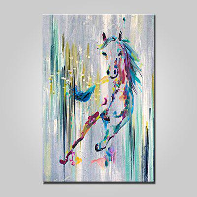 Mintura MT161039 Pure Hand-painted Horse Oil Painting